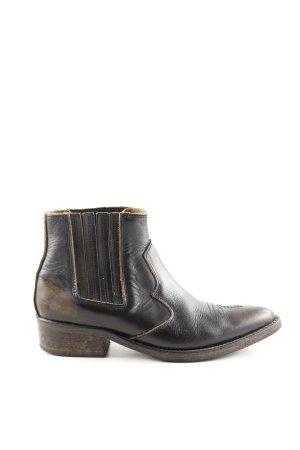 Selected Femme Western Booties brown extravagant style