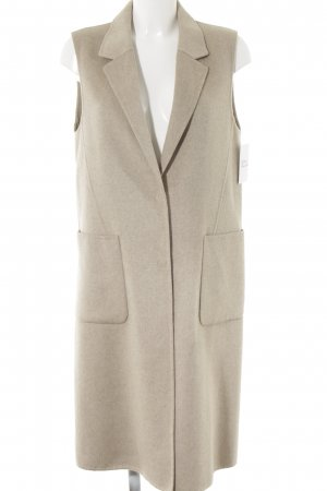 Selected Femme Wool Jacket beige casual look