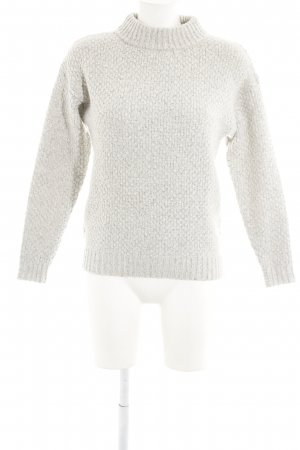 Selected Femme Wollpullover hellgrau Casual-Look