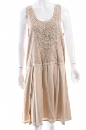 Selected Kleid hellbeige Boho-Look