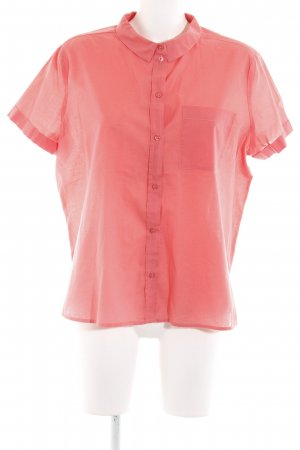 Selected Kurzarm-Bluse lachs Casual-Look