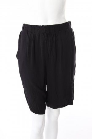 Selected Stoffshorts schwarz