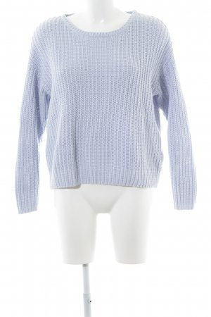 Selected Strickpullover himmelblau Casual-Look