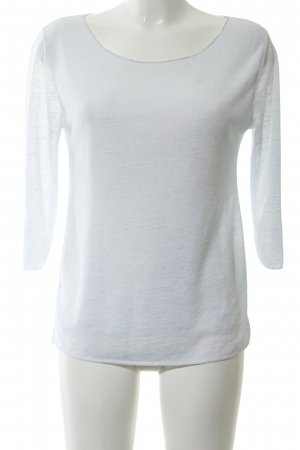 Selected Strickshirt weiß Casual-Look