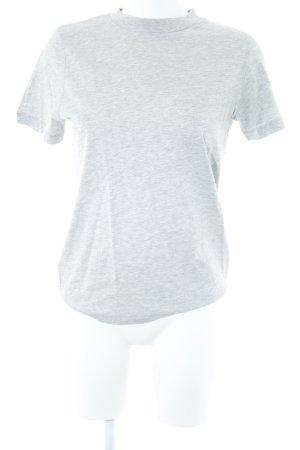 Selected T-Shirt hellgrau meliert Casual-Look