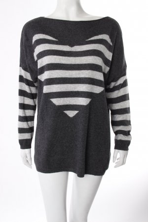 Selected Touch Pullover grau