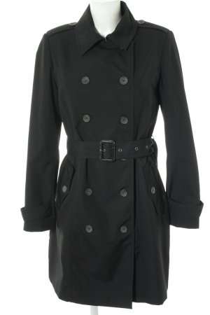 Selected Trench Coat black casual look