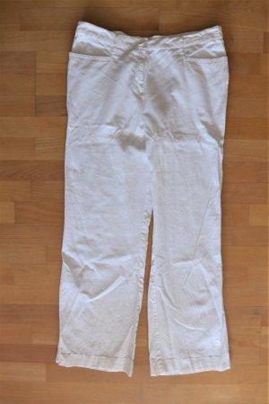 bpc selection Pantalón de lino blanco-blanco puro