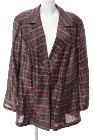 Selection by Ulla Popken Jersey Blazer striped pattern casual look