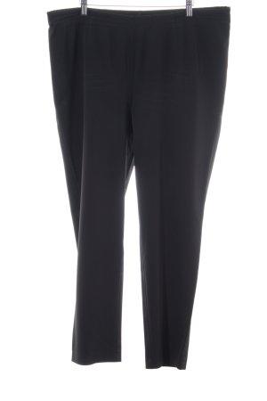 Selection by Ulla Popken Peg Top Trousers black business style