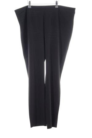 Selection by Ulla Popken Peg Top Trousers black casual look