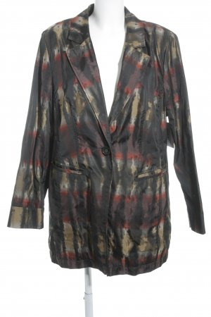 Selection by Ulla Popken Long-Blazer abstraktes Muster Casual-Look