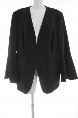 Selection by Ulla Popken Smoking-Blazer schwarz Business-Look
