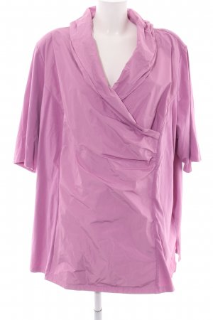 Selection by Ulla Popken Wraparound Blouse pink casual look