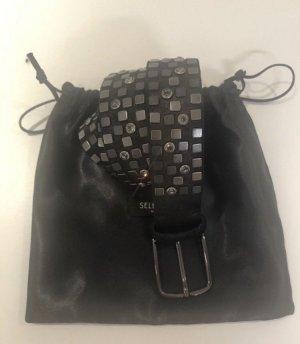 Vanzetti Leather Belt black-bronze-colored