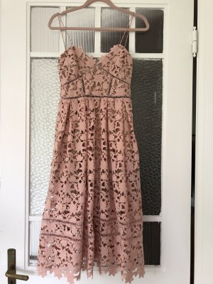 Self-Portrait Azaelea Dress in Rosa