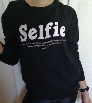 Selfie Mango Sweatshirt Gr.S mit Aufdruck