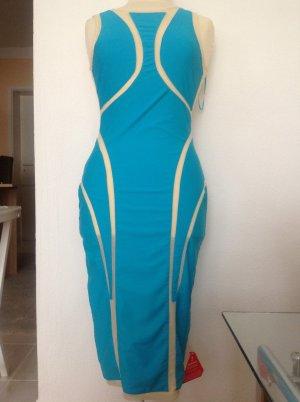 SELFISH Kleid, Stretch mit Netz, Gr.8