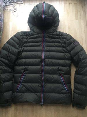 Down Jacket khaki-dark grey