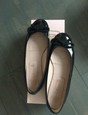 Pretty ballerinas Patent Leather Ballerinas black-dusky pink