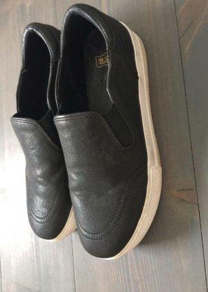 ASH Sneaker slip-on nero-bianco