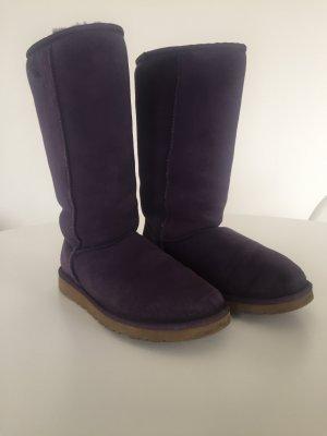 UGG Australia Boots blue violet fur