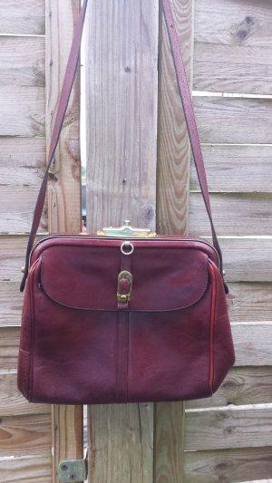 Seltene Aigner Doktortasche Vintage Tasche Schultertasche