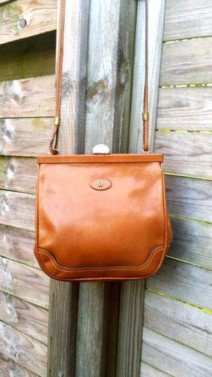 Etienne Aigner Handbag camel leather