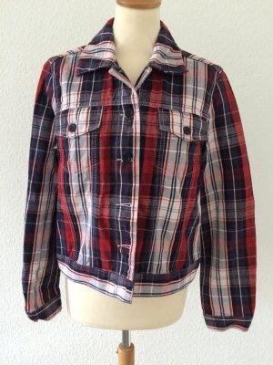 Seltene Karo-Jacke im Jeansjacken-Style