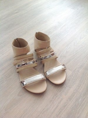 Miss Sixty Strapped Sandals multicolored leather