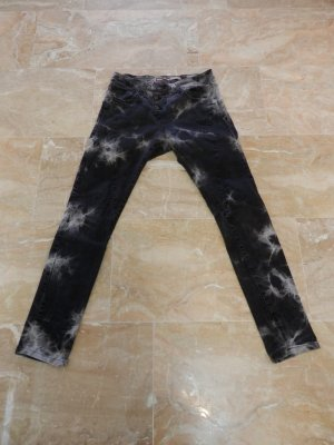 PLEASE Denim Baggy Jeans black-grey