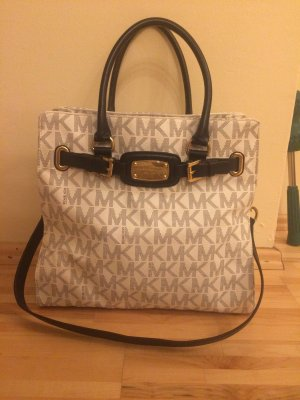 Michael Kors Carry Bag white-dark blue