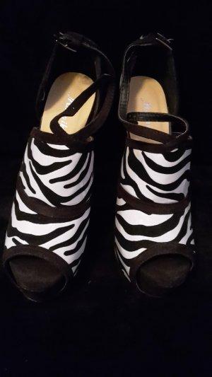 seltene Zebra High Heels