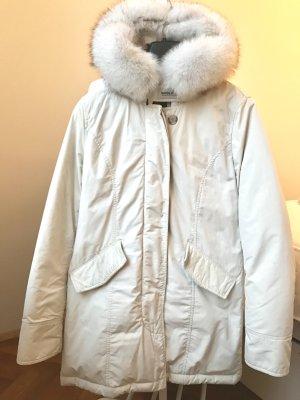 Seltener Woolrich Luxury Arctic Parka full white Größe S
