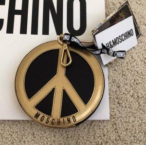 Seltenes H&M X Moschino Leder Portemonnaie Black & Gold