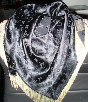Louis Vuitton Fazzoletto da collo nero Seta