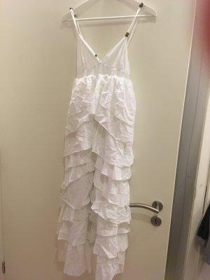 Seltenes Volant Kleid