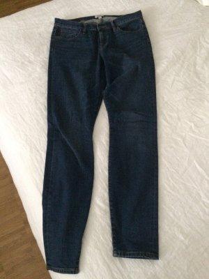 Selvedge Designer Skinny Jeans, Crew, Größe 30Tall
