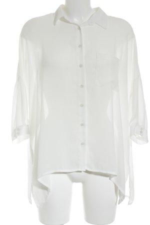 Sem per lei Camicia blusa bianco stile casual