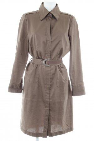 Sem per lei Shirtwaist dress light brown safari look