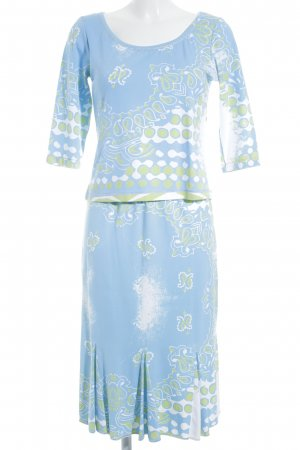 Sem per lei Ladies' Suit abstract pattern classic style