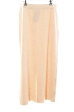 Sem per lei Knitted Skirt cream casual look