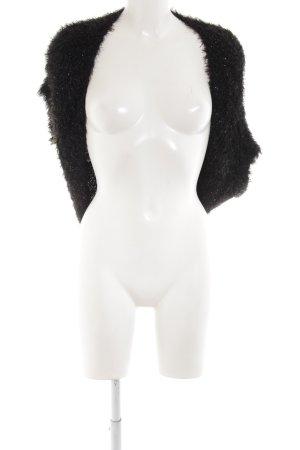 Sem per lei Boléro en tricot noir style extravagant