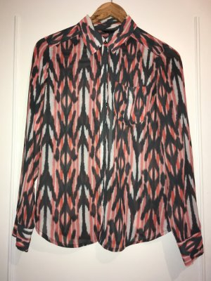 Semi Transparente Bluse Guess