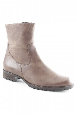 Semler Booties braun Casual-Look