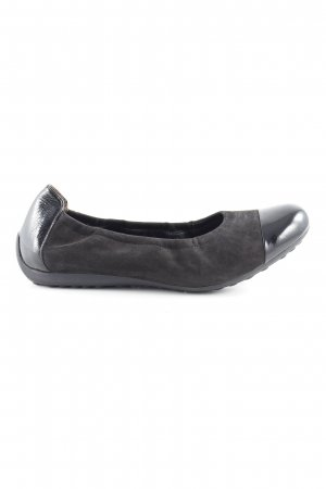 Semler Patent Leather Ballerinas black classic style