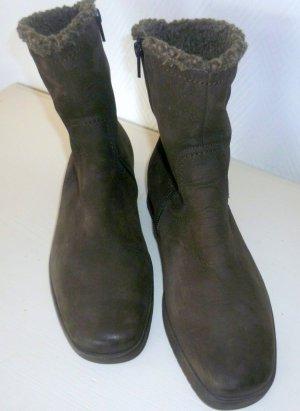 SEMLER - Nubukleder Stiefel-Boots mit Luftpolster - gefüttert -Gr. 5,5