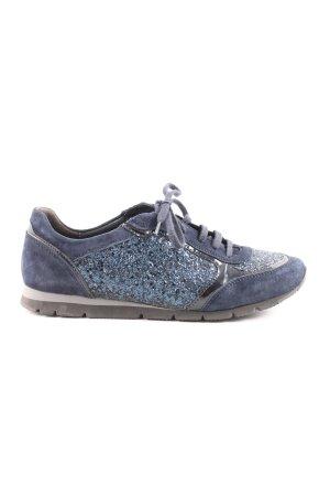 Semler Schnürsneaker blau Casual-Look