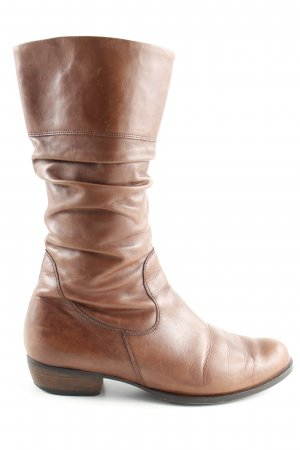 Semler Slouch Boots brown casual look