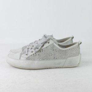 SEMLER Sneaker Gr. 38 1/2 hellgrau muster (18/11/359)